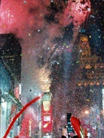 Times Square welcomes the Millennium to the music of John Califra
